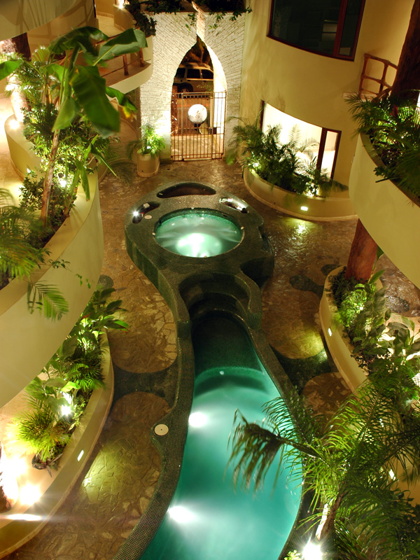 Maya Villa Gecko Pool